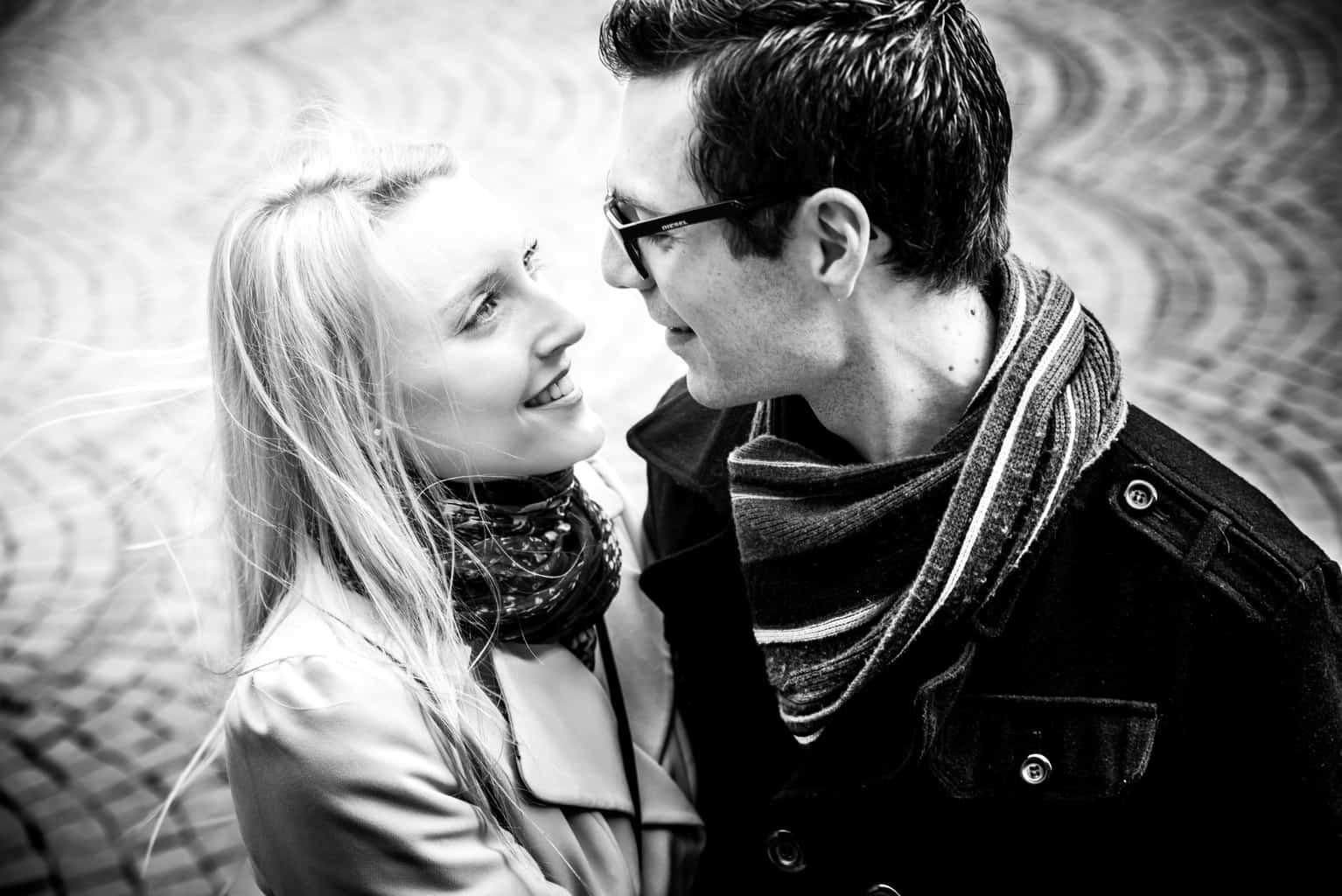Kathrin und Björn, Fotoshooting Düsseldorf
