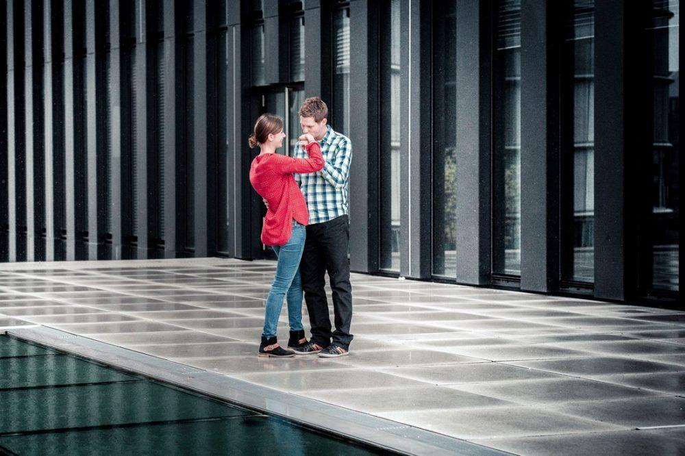 Anna und Basti, Fotoshooting Düsseldorf