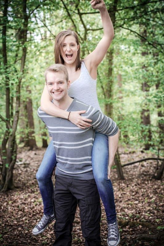 Annika und Raphal, Fotoshooting Krefeld