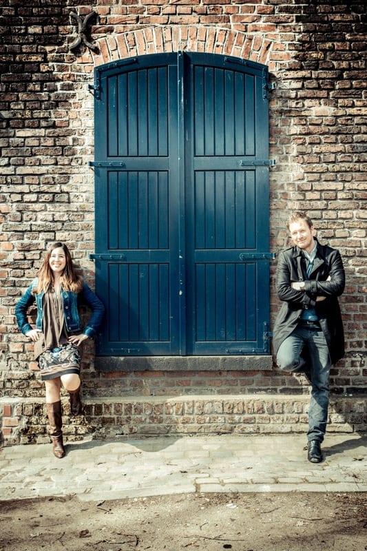 Britta und Björn, Fotoshooting Düsseldorf