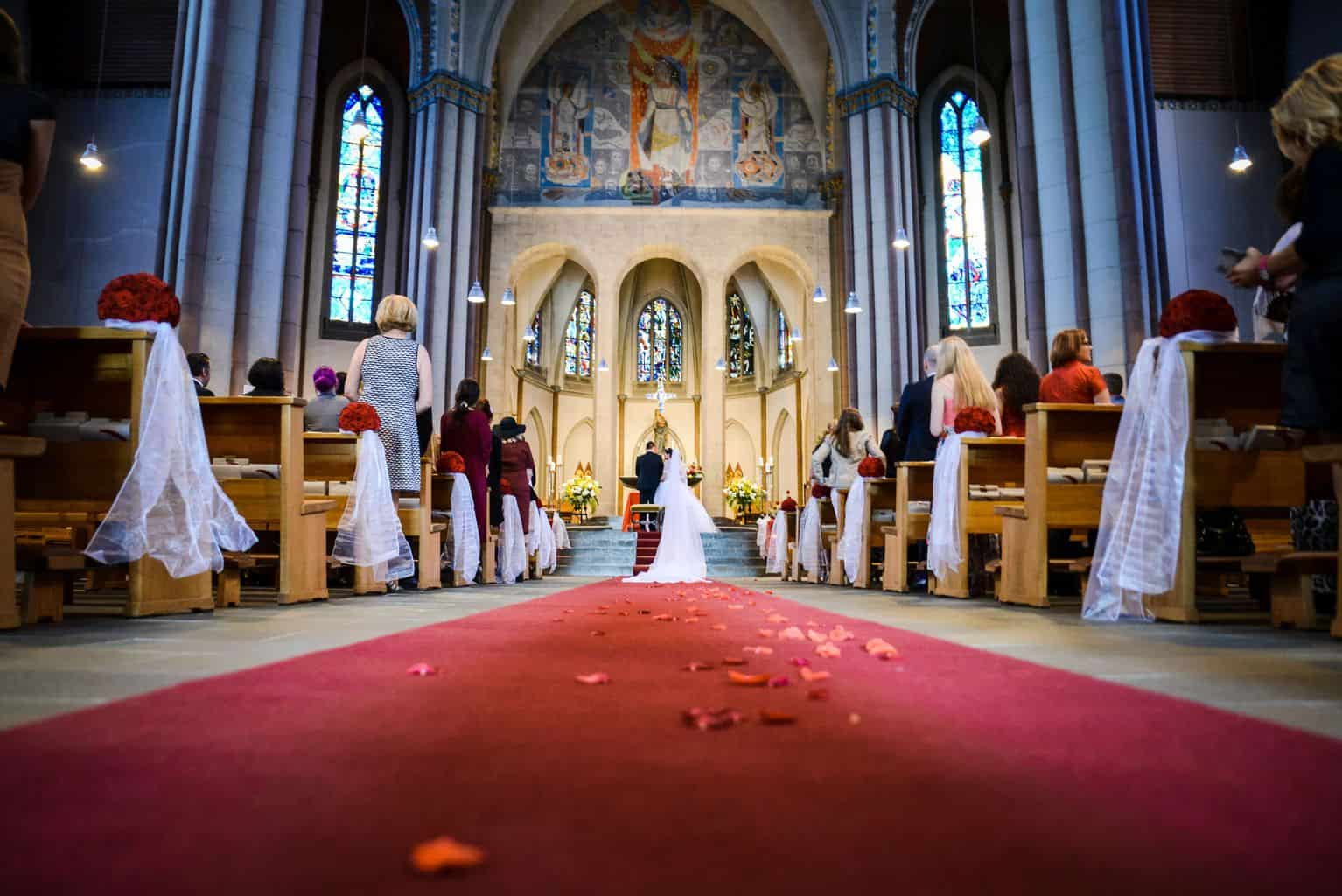 CroArts Hochzeitsreportage in Düsseldorf: Trauung