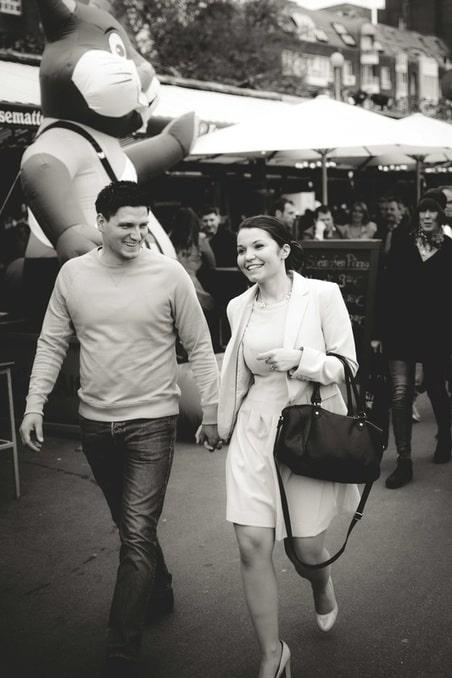 Elizabet&Marko, Fotoshooting in Düsseldorf