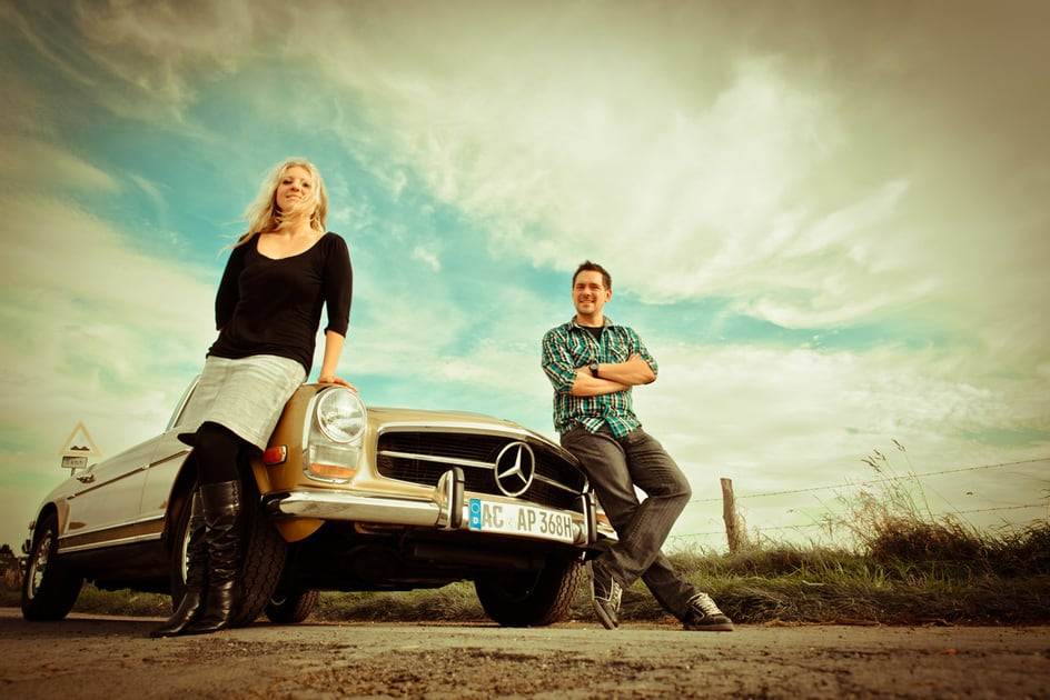 Nedia&Thomas, Fotoshooting in Aachen