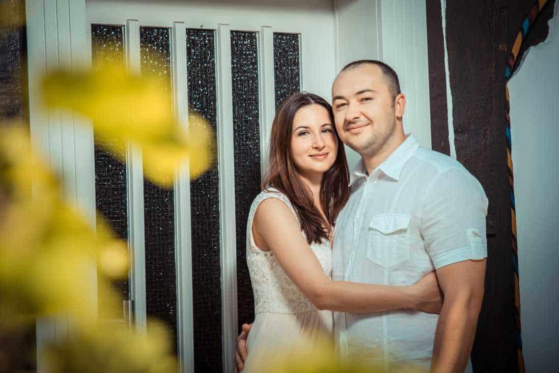 Svetlana und Juri, Fotoshooting in Gütersloh