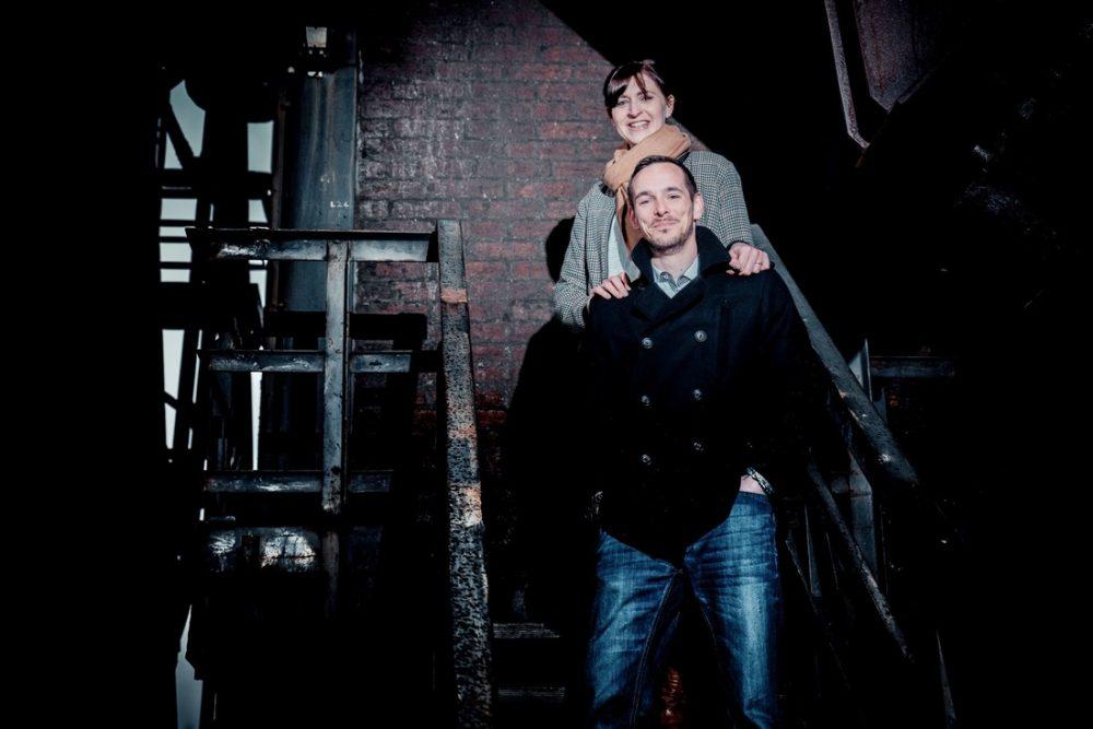 Simone und Norman, Fotoshooting Oberhausen